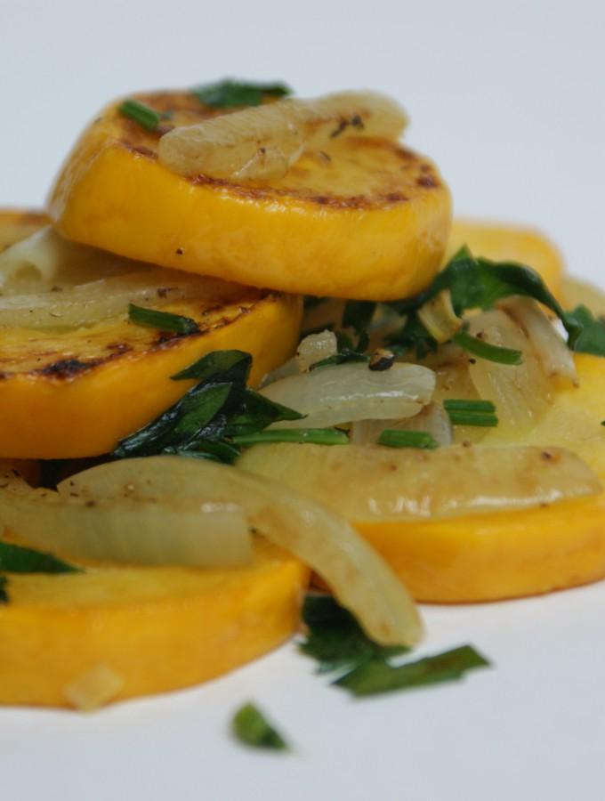 Gelbes Zucchini-Gemuese