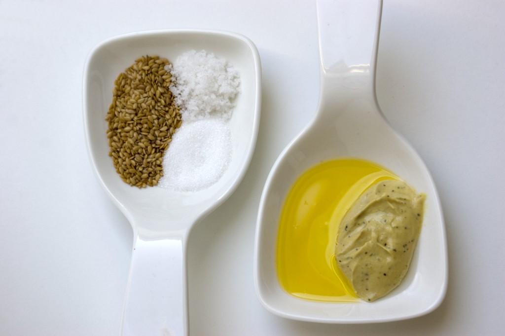 Leinsamen Mayonnaise Zutaten