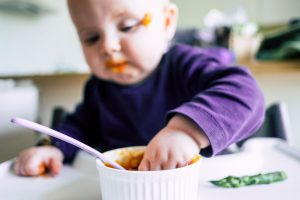 Baby led weaning mt Brei