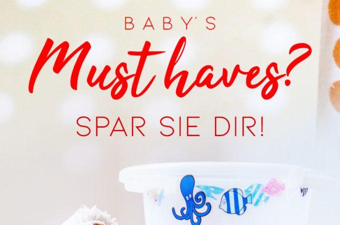 Baby Fehlkauf Liste – Spar Dir bis zu 800 Euro!