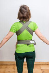 Maruspi Babytrage Erfahrungen Rückenansicht