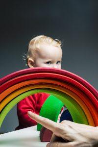 Montessori Geschenke Grimms Regenbogen