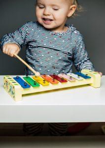 Montessori Geschenke Kleinkind Xylophon