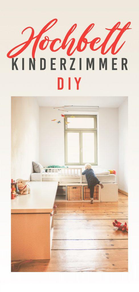 Hochbett DIY Banner für Pinterest