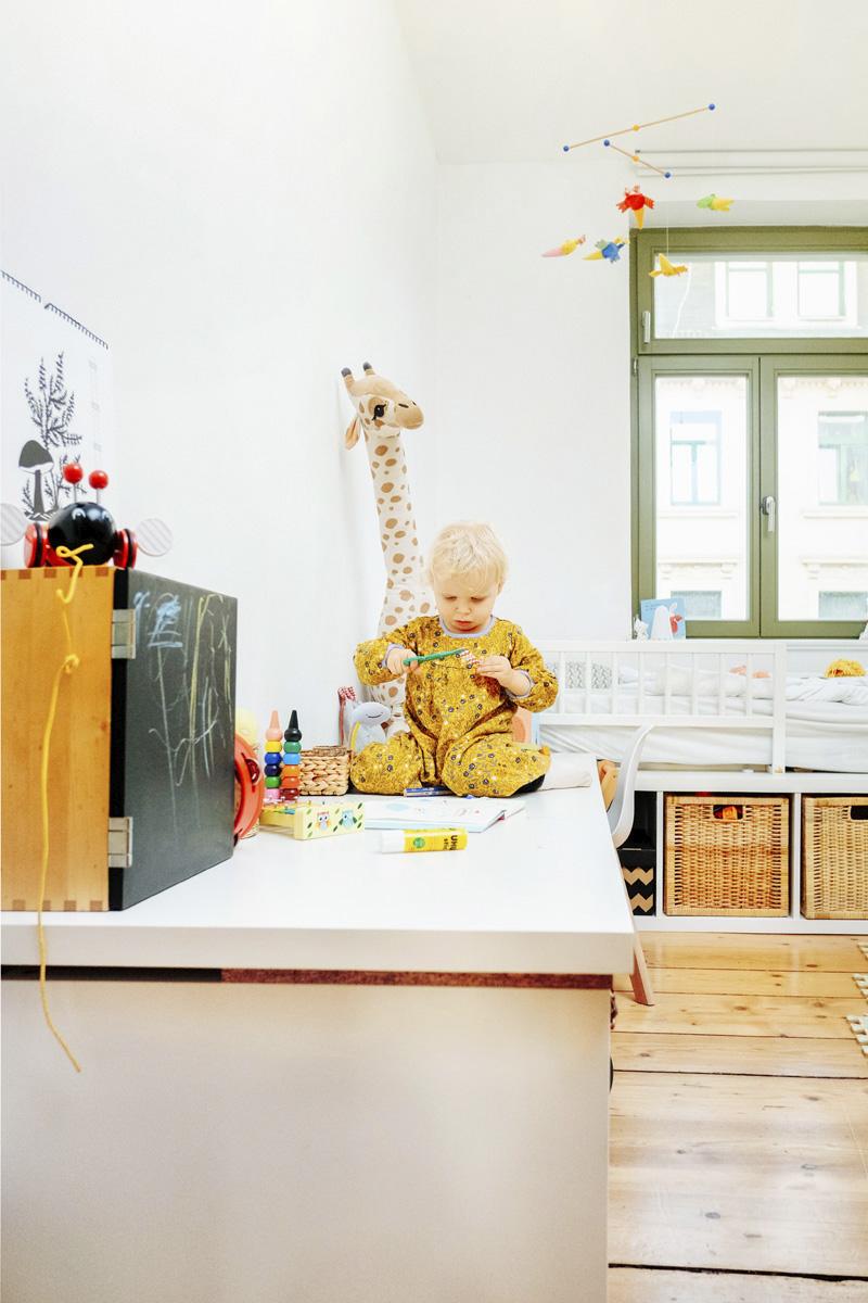 Spieltisch Montessori Zimmer