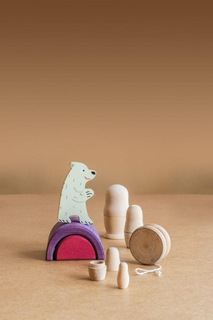 Holzspielzeug Matroschkas